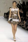 Алехандра Алонсо, фото 9. Alejandra Alonso Dolce & Gabbana S/S 2011, photo 9
