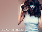 Helena Christensen : Very Hot Wallpapers x 2