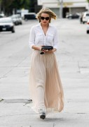 Dianna Agron Leaving a Salon in Beverly Hills Nov.28 '11