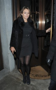 Elizabeth Hurley in Mayfair, London 18th January x7
