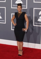 Алиша Киз (Алисия Кис), фото 3068. Alicia Keys 54th annual Grammy Awards - 12/02/2012 - Red Carpet, foto 3068