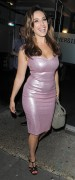 kelly brook tight dress cleavage