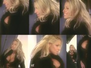DVD Captures: Trish Stratus - BTS of 2001 Raw Magazine Photoshoot